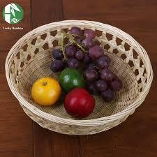 cheap fruit baskets bamboo fruit basket handmade food birthday gift baskets