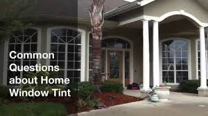 Mobile Window Tinting Phoenix Common Questions About Home Window Tint Youtube