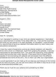 Front Desk Attendant Front Desk Assistant Cover Letter