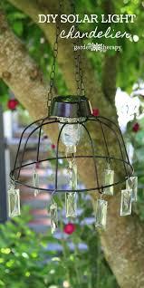 light project diy solar light chandelier