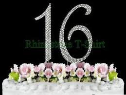 cake topper numbers 1 to 100 rhinestone silver plated cake topper numbers birthday