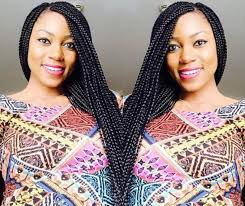 naigerian actresses hairstyles the return of braids nigerian celebs rock it with style vanguard