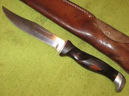 vintage cutco model 1769 hunting knife w sheath for sale at
