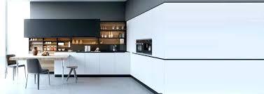 cuisine noir et deco cuisine noir et blanche idée de modèle de cuisine