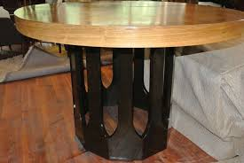 harvey probber bleached rosewood gothic dining table for sale at