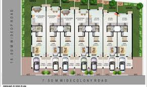 Row Houses Floor Plans Fashionable Row House Plans For Sale 11 What Is A Nikura