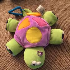 plush easter baskets best infant easter basket lamaze plush turtle rattle mirror baby