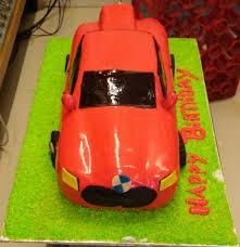 designer car cake