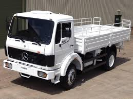 mercedes truck 4x4 mercedes 1017 4x4 drop side cargo truck for sale mod direct sales
