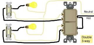 double light switch wiring double 3 way switch wiring electricity three way switching