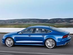 blue audi s7 2016 audi a7 s7 sportback styling and powertrain upgrades kelley