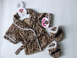 clothes for build a teddy clothes leopard pj s robe slippers 3 1248 p jpg 1 202