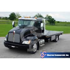 kenworth light duty trucks t270 w chevron 21 u0027 steel lcg series 12 flatbed