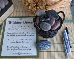 signing rocks wedding guest book 25 3 4 inch wishing stones river rocks flat rocks
