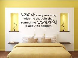 bedroom quotes wall idea word for wall decor in bedroom design