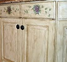 Paint Finish For Kitchen Cabinets Faux Finishes Kitchen Cupboards Kitchen Design Ideas Faux Painted