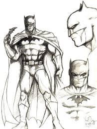 batman sketch jim lee inspired by viemdi on deviantart