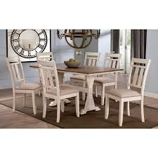 White Wooden Dining Table And Chairs Roseberry Shabby Chic French Country Cottage Antique Oak Wood And