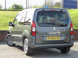 used peugeot partner tepee 1 6 active bluehdi 66 reg