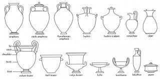 Greek Vase Design Shapes Of Ancient Greek Pottery Polytropon Art At Delphi Greece