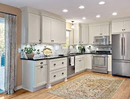 Lighting For Under Kitchen Cabinets by Light Rail Cabinet Molding