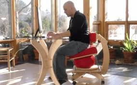 språng chair is balance ball and ergonomic chair in one insidehook