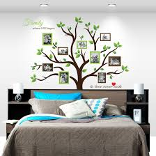 amazon com timber artbox large family tree photo frames wall amazon com timber artbox large family tree photo frames wall decal the sweetest highlight of your home and family home kitchen