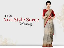 How To Drape A Gujarati Style Saree Diy Gujarati Style Saree In 5 Easy Steps Watch Video