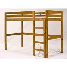 Bunk Beds Pine Pine High Sleeper Loft Bunk Bed Frame Beds Pine