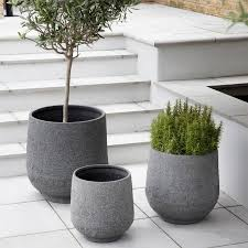 terrarium design interesting tall white outdoor planters tall