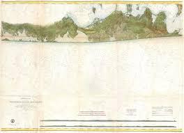 Map Of The Hamptons File 1857 U S Coast Survey Map Of Eastern Long Island Hamptons