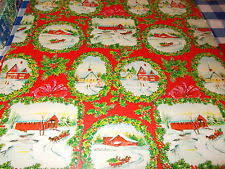 country christmas wrapping paper vintage christmas wrapping paper ebay