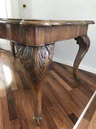 sedie chippendale tavolo chippendale in radica di noce primi 900 6 sedie