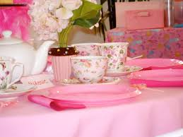 Tea Party Table by Traveling Tea Kids Parties