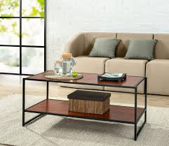 Living Room Accent Table Coffee Table Black And Silver Side Table Small Accent Table