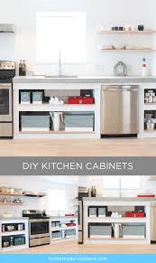 open shelving kitchen cabinets homemade modern ep86 kitchen cabinets