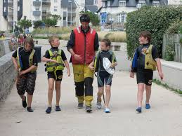 learning to sail in concarneau the beach house france