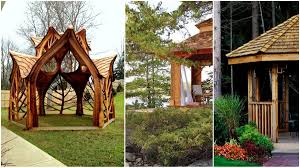 Garden Building Ideas 27 Cool And Free Diy Gazebo Plans Design Ideas To Build Right