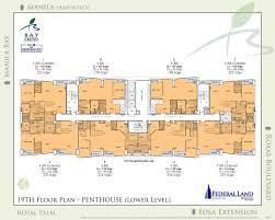Residences Evelyn Floor Plan by Floor Plan Bay Garden Club And Residences