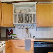 Building Custom Kitchen Cabinets Blue Roof Cabin Update A Builder Grade Kitchen With A Diy Custom