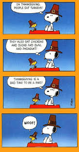 thanksgiving birds snoopy and the bad bad