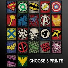 Diy Superhero Room Decor Delightful Design Comic Book Wall Art Astounding Comic Craft Diy