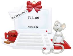 buy computer ornament personalized ornament from a