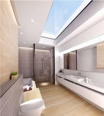 swiss bureau modern sky light bathroom design designed by swiss bureau interior