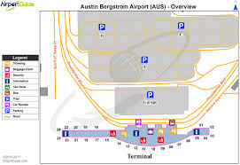 Denver International Airport Map Austin Bergstrom Airport Map Austin Bergstrom International