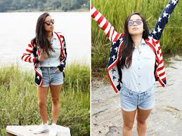 American Flag Cardigan Katie Li Oasap American Flag Cardigan Lf Button Up Levi U0027s Cut