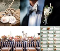 nautical weddings inspired by nautical wedding details