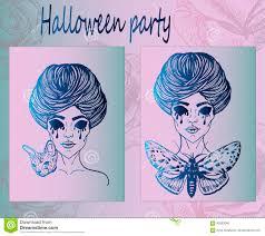 art posters for halloween stock vector image 95583040