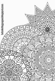 mandala coloring pages cecilymae