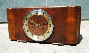 Mantel Clocks Antique Art Deco Mantel Clock From Junghans For Sale At Pamono